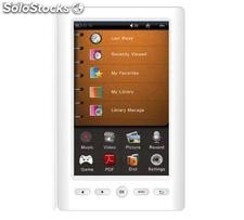 "5""Ebook libro elettronico e-lettore touch screen memo 4gb usb tf Ebook502"