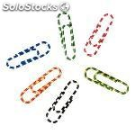 5 star clips nº 2 caja 100 ud 33 mm colores surtidos 503344