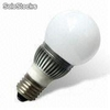 50 to 60Hz led Globe Bulb with 85 to 265V ac Voltages, Measures 40 x 128mm