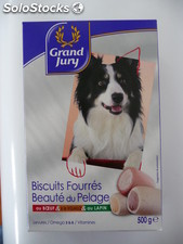 500G biscuits pour chien grand jury