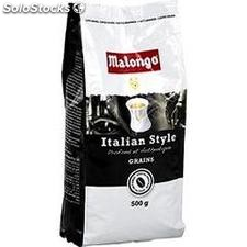 500G cafe grains italien style malongo