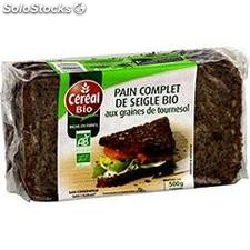 500G pain complet seigle cereal bio