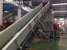 500kg/h PP/PE Milk Bottle Washing Line