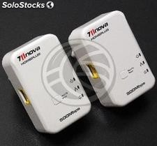 500Mbps HomePlug Powerline PLC Networks Adapter Kit plugs 2 ethernet (HP12-0002)