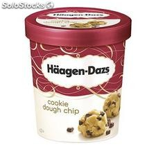 500ML glace cookie dough chip haagen-daz