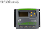 50A 12V24V Solar-Systemregler LCD-Display einstellbare Parameter Solarregler