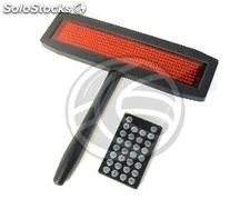 50x7 LED electronic sign bright red notebook (LG01)