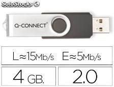54635 Memoria usb q-connect flash 4 gb 2.0