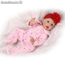 55cm simulation baby doll belle douce