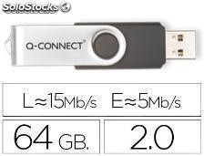 57399 Memoria usb q-connect flash 64 gb 2.0