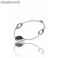 59006 | Pulsera Time Force Tj-1195B01N Pulsera Plata 925