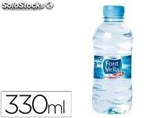 59189 Agua mineral natural font vella botella de 330ml