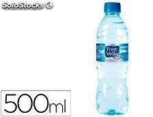 59190 Agua mineral natural font vella botella de 500ml