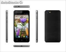5pul celular inteligente pda smart phone p6 Android4.4 mtk6582 wcdma 1gb 4gb