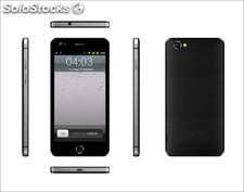 5pul smart phone pda celular inteligente i6 Android4.4 mtk6582 quad-core 1gb 4gb