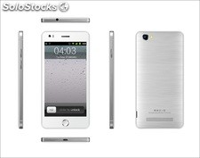 5pul smart phone PDAs i6 Android4.4 mtk6582 quad-core gsm wcdma 1gb 4gb camaras