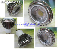 5W Focos led GU10 E27 GU5.3 MR16 bombillas leds 5W 30°/ 45°/ 60°