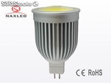 5w mr16 Lâmpadas de led, dc 12v, cob led