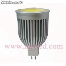 5w mr16 led bulbo, dc 12v, cob led