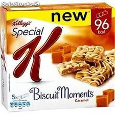 5X25G barre biscuit moment caramel kellogg's