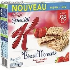 5X25G barre moments fraise kellogg's