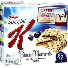 5X25G barre moments myrtilles kellogg's