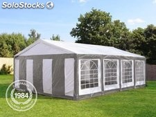 5x8m PE Marquee / Party Tent, grey-white