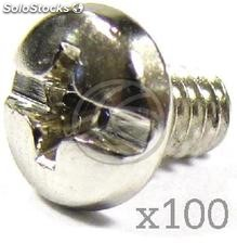 6-32 pc Screws 6mm (100 Pack) (TO07)