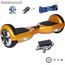 6,5 equilibrio Patinete Eléctrico Bluetooth scooter auto balance hoverboard