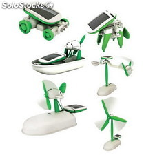 6 en 1 Kit Educativo Solar Robot
