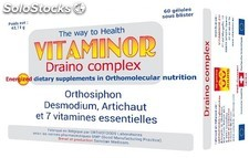 60 capsules complexes Vitaminor Draino
