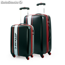 63900 set de 2 trolleys 55/66CM negro