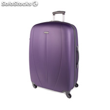 64270 trolley abs grand 75 cm marque tempo Violet