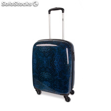64950 cabine trolley polycarbonate affaire marque low cost skpa t bleu