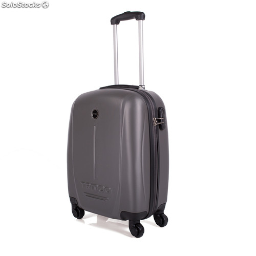 66150 trolley abs cabina low cost marca tempo gris oscuro