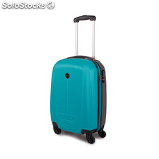 66150 trolley abs cabina low cost marca tempo turquesa-gris oscuro