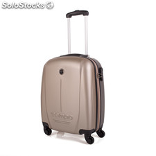 66150 trolley abs pozzetto marchio low cost tempo Champagne-Gris Oscuro
