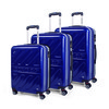 67100 set 3 trolley abs marchio dunlop Blu