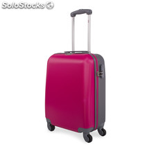 67250 trolley abs cabina low cost marca jaslen fucsia-gris
