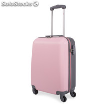 67250 trolley abs cabina low cost marca jaslen rosa-gris