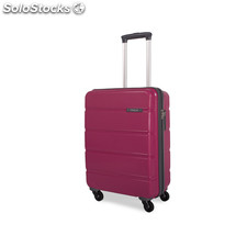 67650 trolley polipropileno low cost rosa