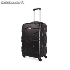 68160 trolley mediano abs negro