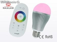 6w a19 rgb led Lampen, Dimmable, e27/e26/b22