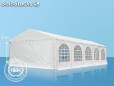 6x10m PVC Marquee / Party Tent w. Groundbar, white