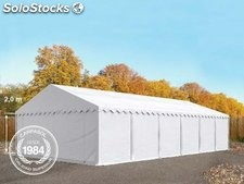6x12m PVC Storage Tent / Shelter, white
