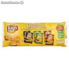6X27,5G chips aromatisees lay's