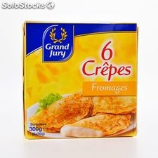 6X50G crepes fromage grand jury