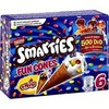 6X75ML smarties fun cones nestle