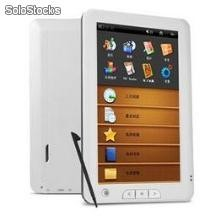 "7""elektronisches Buch e-book Leser Touch-Screen True Color Speicher 4gb usb tf"