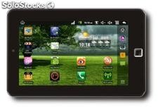 "7""tabletas pc mid funcion llamada android2.2 wm8650 800MHz 256m 4g wifi camara"